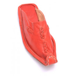 Babouche Aladin Homme Rouge