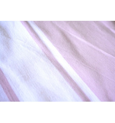 Fouta plate Rose & Blanche