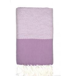 Fouta Chevron púrpura