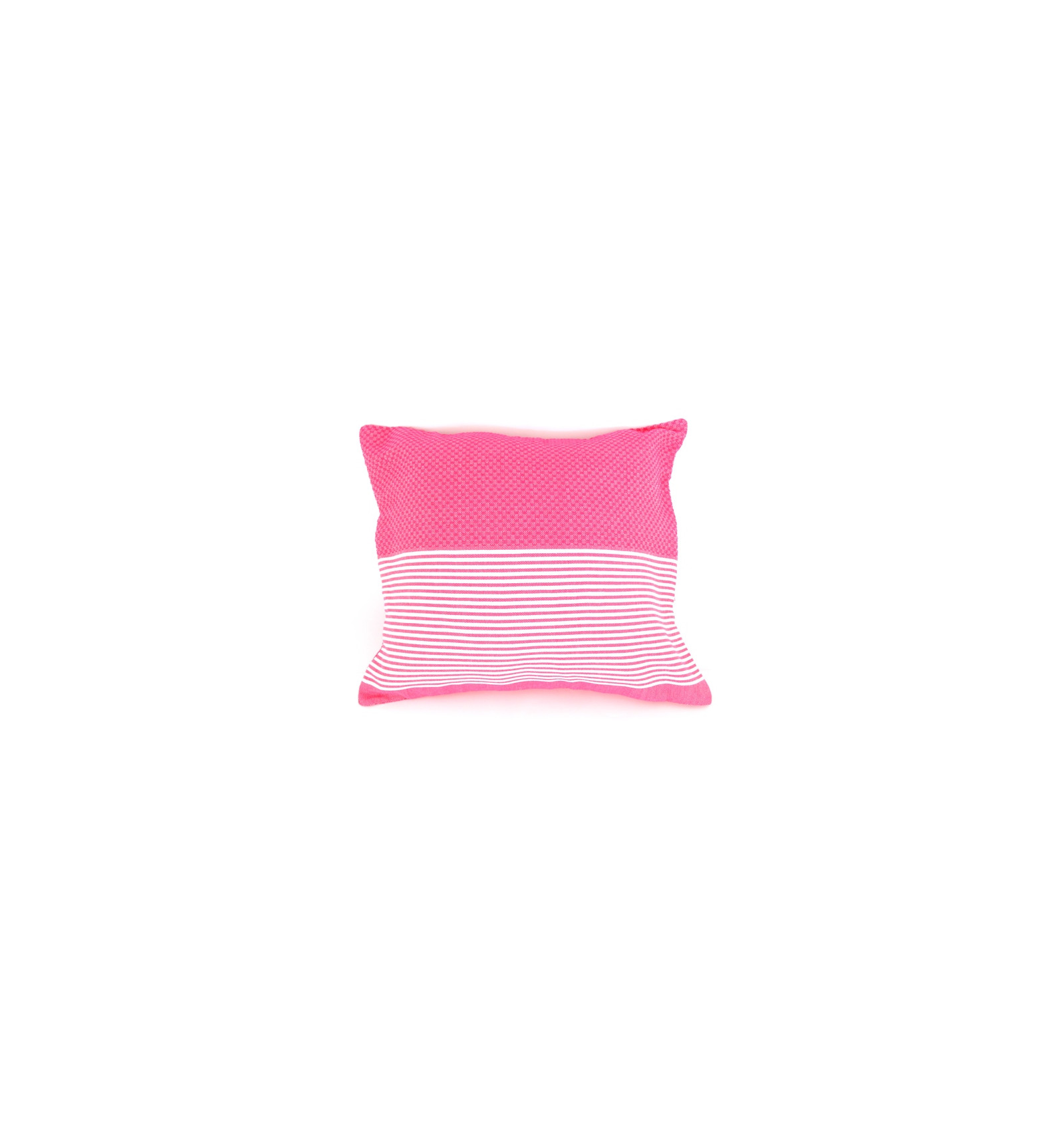 housse de coussin 40x40 fouta rose fushia lartisanet. Black Bedroom Furniture Sets. Home Design Ideas