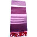Jeté de fauteuil ou canapé : violet
