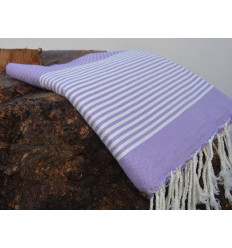 Fouta turkish towels purple