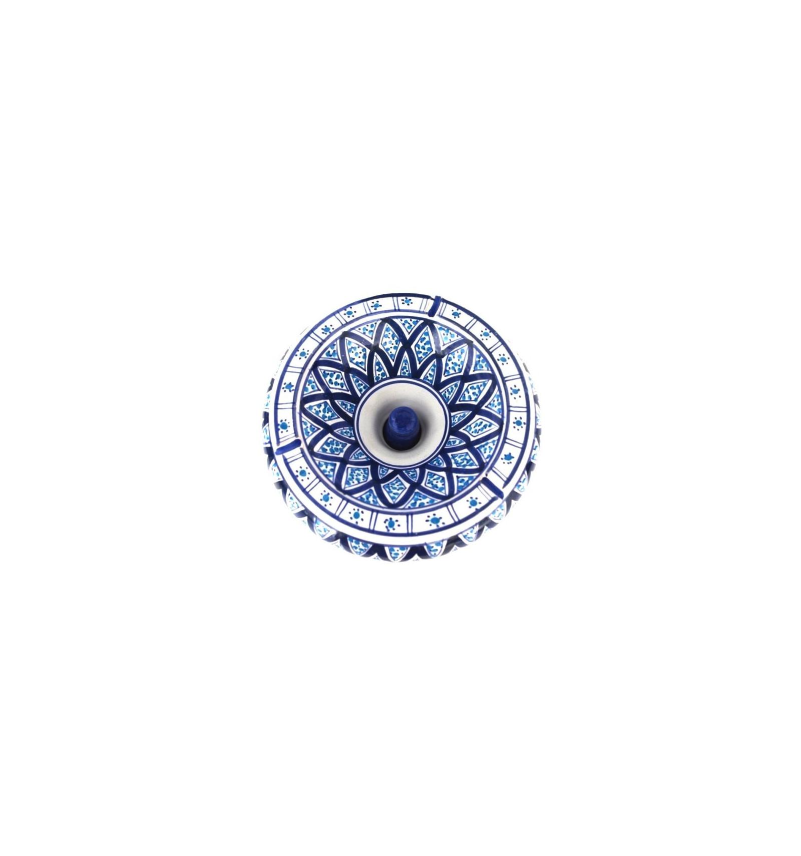 cendrier marocain grande taille latest cendrier marocain en cramique bleu with cendrier. Black Bedroom Furniture Sets. Home Design Ideas