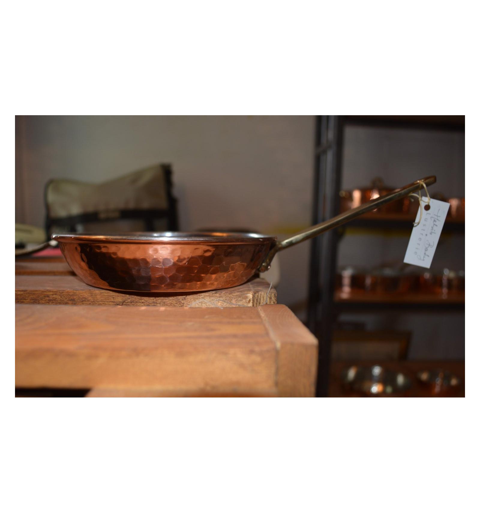 po le ronde en cuivre martel ustensiles de cuisine en cuivre cuisson en cuivre. Black Bedroom Furniture Sets. Home Design Ideas