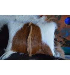 Cojín de piel de cabra