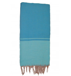 Blue throw blankets