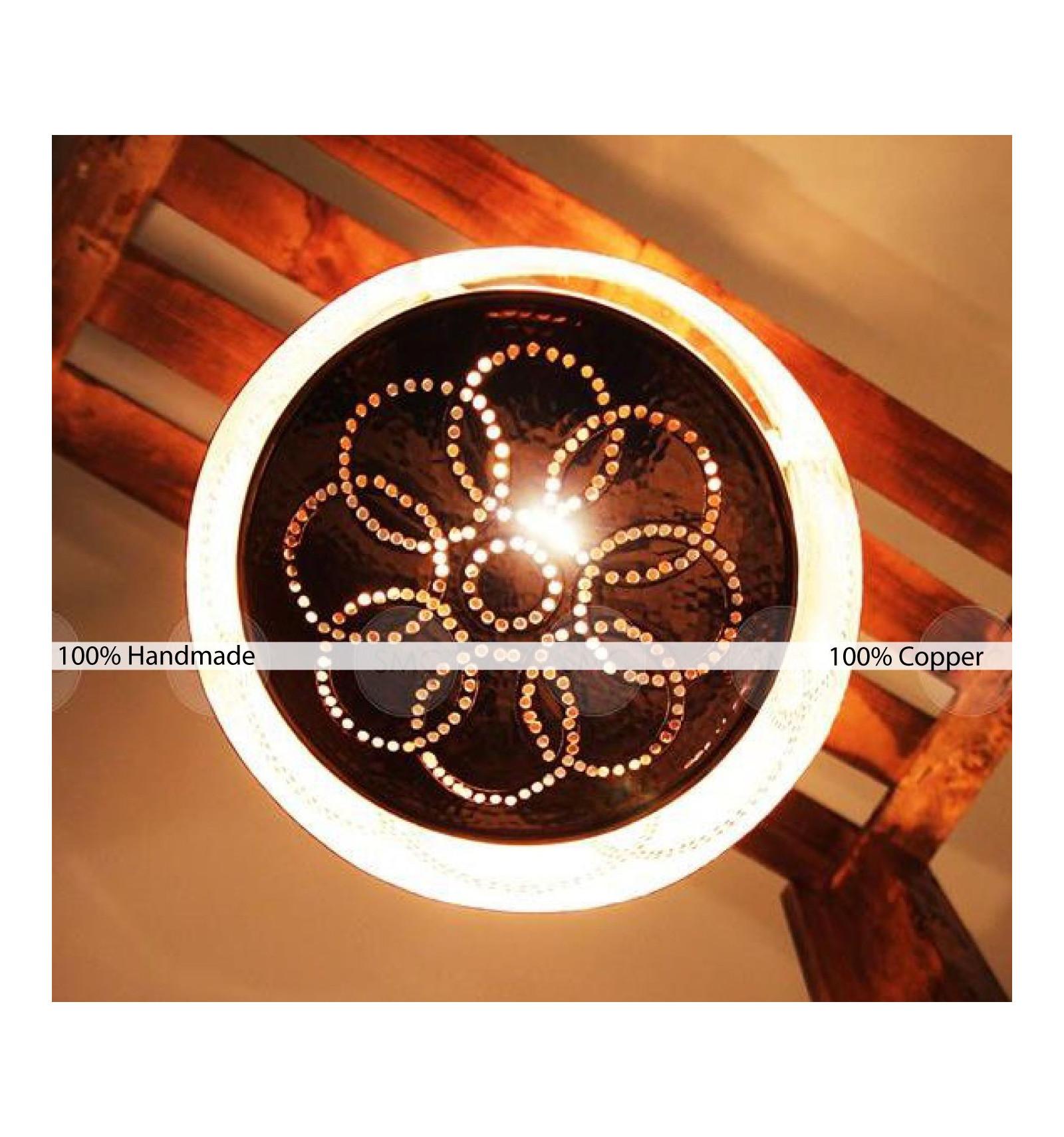 suspension luminaire en cuivre galaxy lartisanet. Black Bedroom Furniture Sets. Home Design Ideas