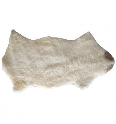 Peau de mouton tachetée