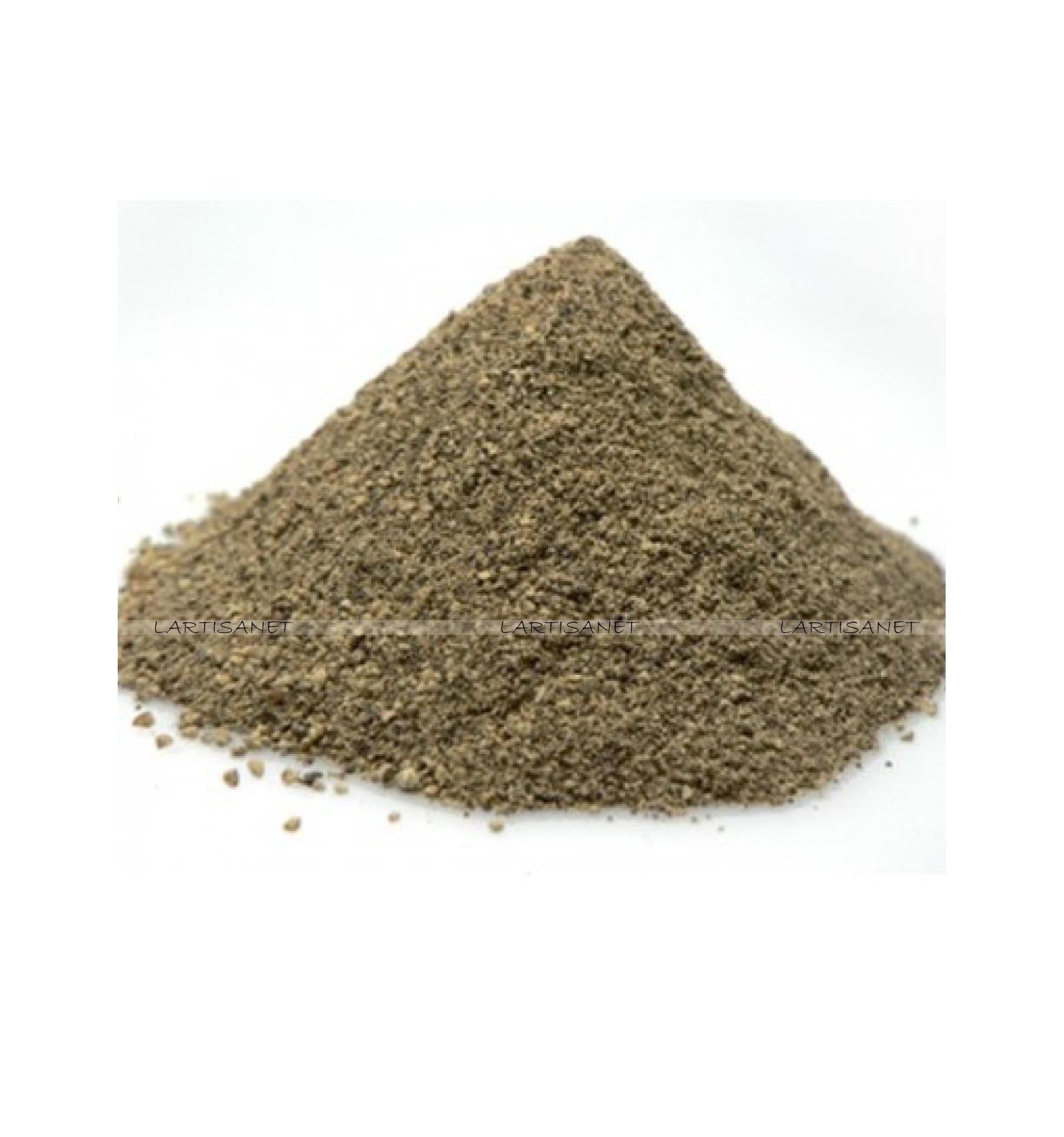 Poivre noir moulu - Lartisanet