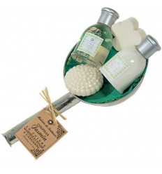 Coffret : Coupelle Hammam Jasmin