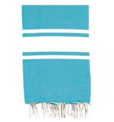 Asciugamani da bagno : cielo blu