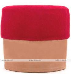 Sombrero Tarbush marroquí : rojo