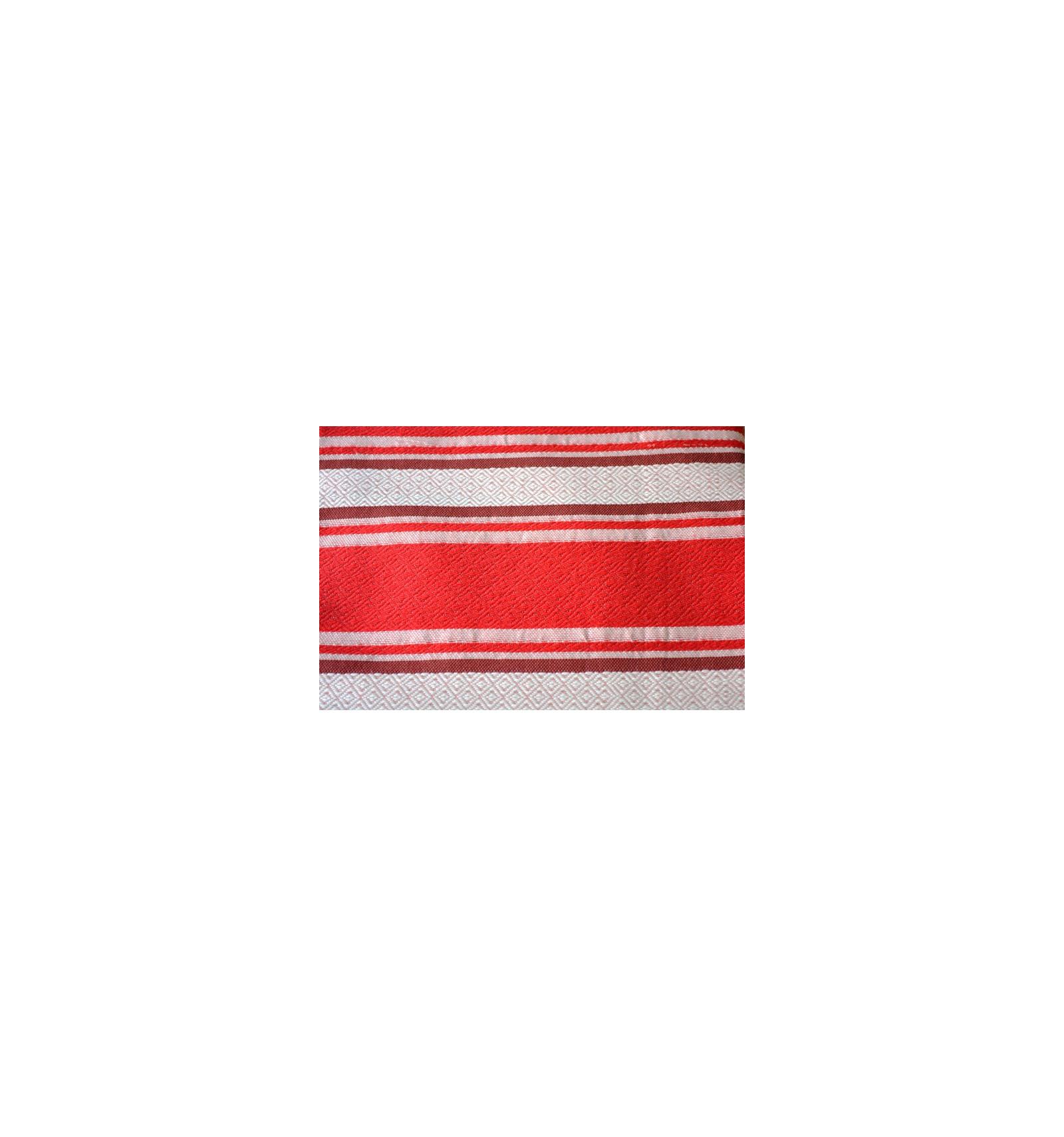 Plaid rouge pour canap for Plaid coton pour canape