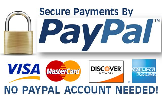 Secure payments by PayPal - Lartisanet