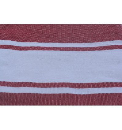 Red and white Fouta