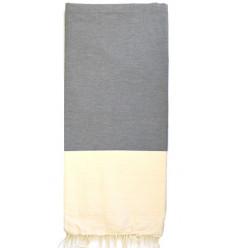 Jeté de canapé gris : 200 x 300 cm