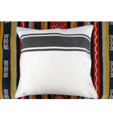 Black and white cushion covers : 40x40