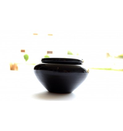 Black moroccan ashtray