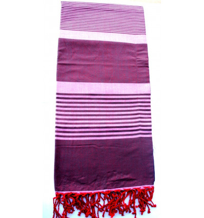 Fouta XL marrón
