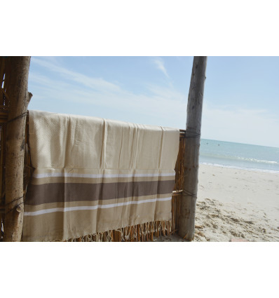 Turkish hammam towel green
