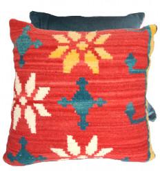 Large cushion: kilim pillow 50x50
