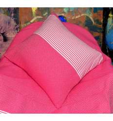 Pink cushion covers : Towel Pink