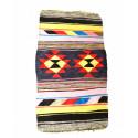 Crochet rag rug : Multicolour