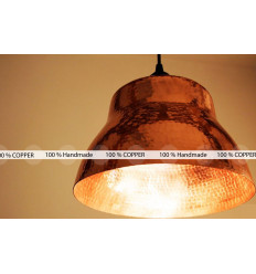 Copper lamp shade