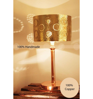 Copper lamp shade