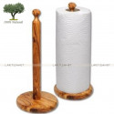 Olive Wood Paper Towel Holder
