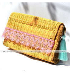 Pocket Pink Tassel