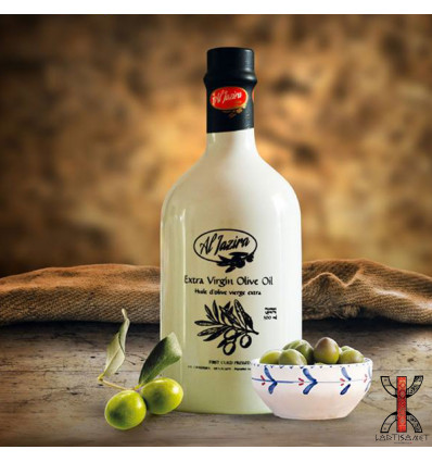 Extra Virgin Olive Oil in Ceramic Bottle