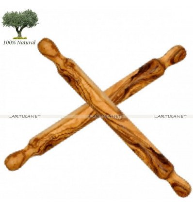 Knotted Olive Wooden Rolling Pin