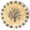 Tableau d'olivier en mosaïque