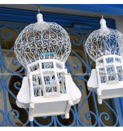 Decorative Unique Bird Cage for Home Decor