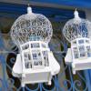 Cage à oiseau décoratif