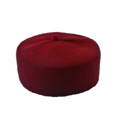 Nigerian chief hat : Red