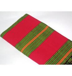 Fouta berbère rouge verte