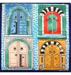 Gravure sur plâtre de Beb Sidi BouSaïd (taille moyenne)