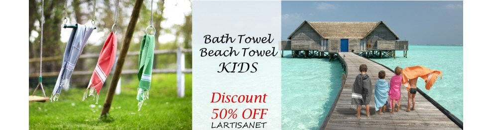Kids and babies' Fouta towels