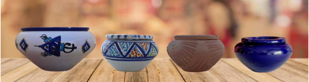 Ceniceros de cerámica